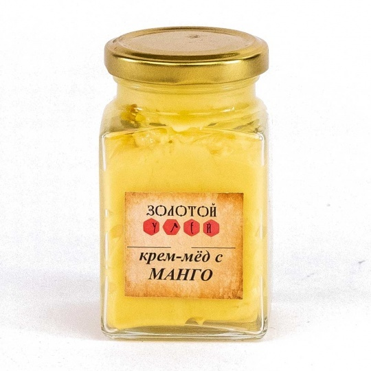 Крем-мёд с манго «Золотой Улей» 300гр
