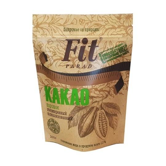"Какао обезжиренный ""ФитПарад"", 150г."