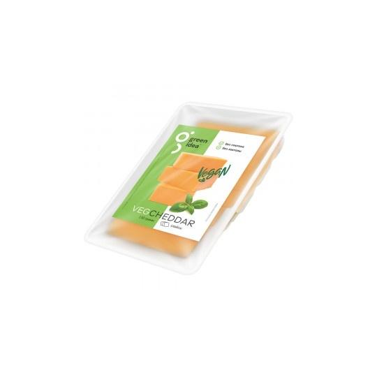 "Сыр веганский чеддар ""Green Idea"" нарезка, 150 г"