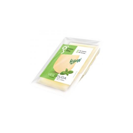 """Сыр веганский гауда """"Green Idea"""" нарезка,150 г"""